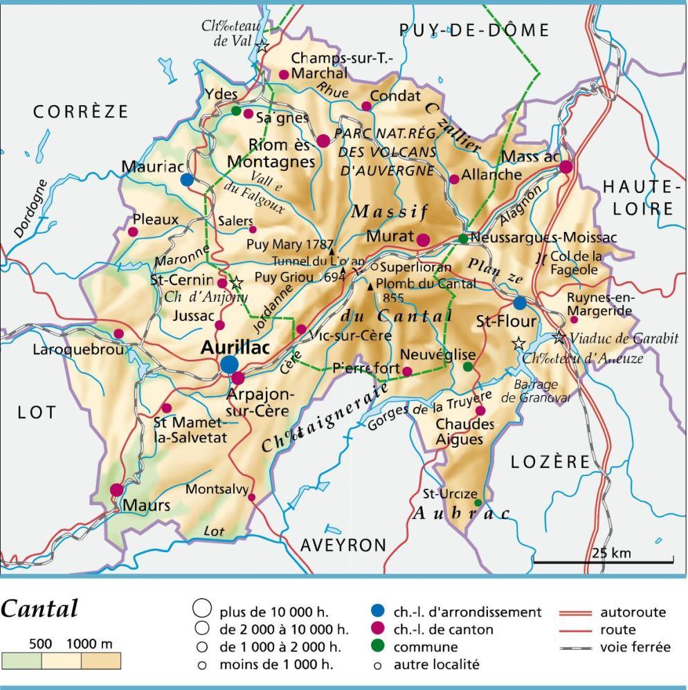 cantal departement 15 -
