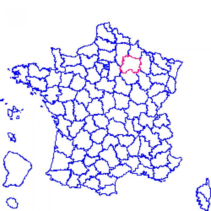 Carte plan et itin raire d partement marne 51 for Plan de la marne 51