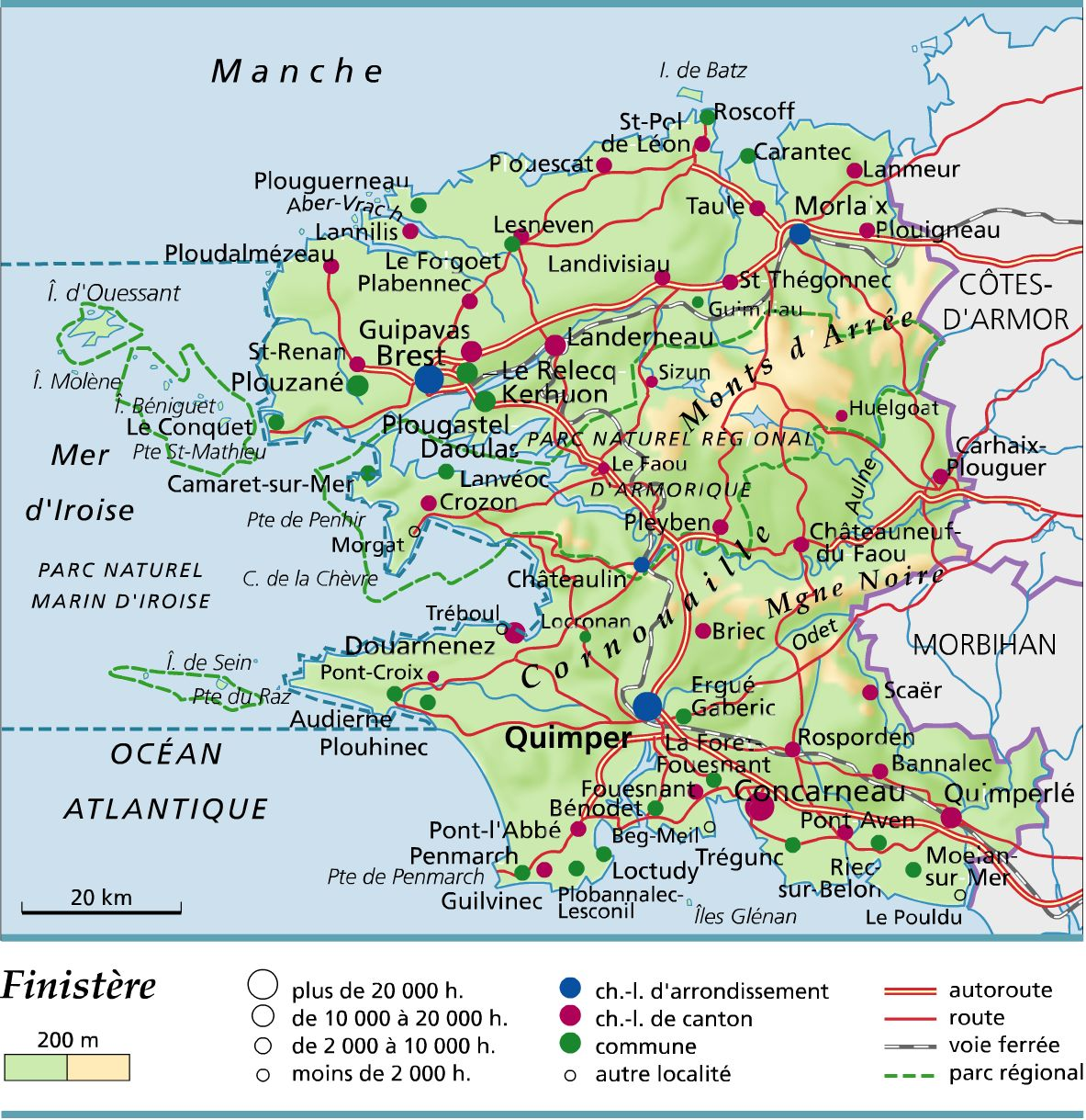 departement du finistere -