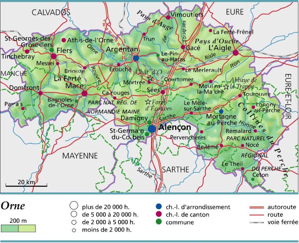 departement de lorne -